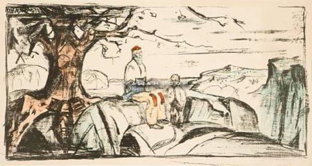 Edvard Munch-Historien II (Woll nr. 486 II)-1914