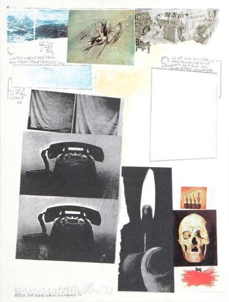 Robert Rauschenberg - Poster For Peace (Composition)-1971