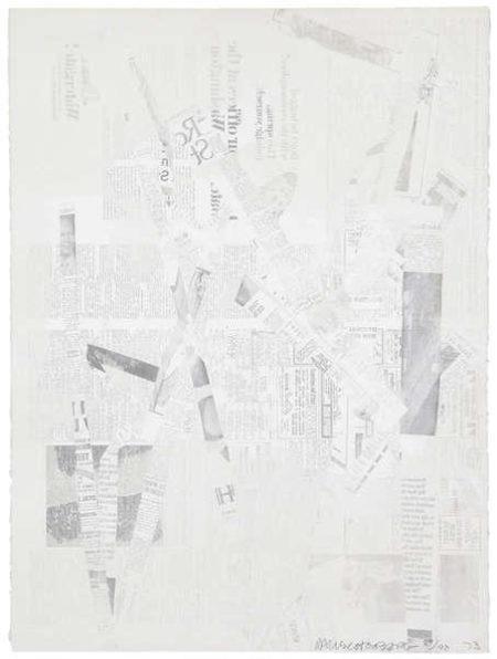 Robert Rauschenberg-Robert Rauschenberg - Compositie-1972