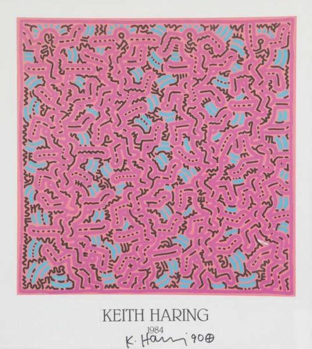 Keith Haring-Keith Haring - Affiche 1984-1990