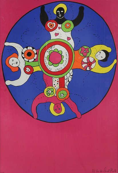 Niki de Saint Phalle-Nana fontaine-1970