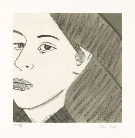 Alex Katz-Untitled / From Light as Air-1987