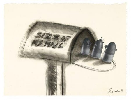 Richard Prince-Size Of My Mail-1974