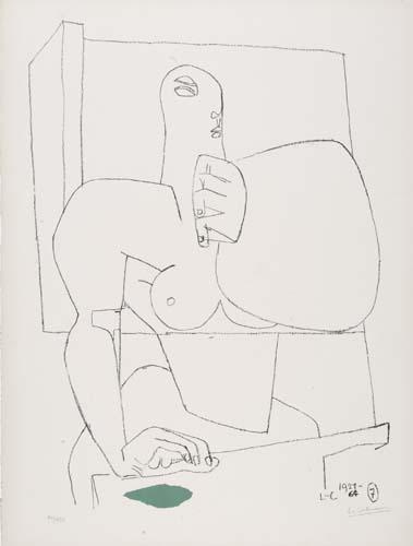 Le Corbusier-Athelete 7-1964