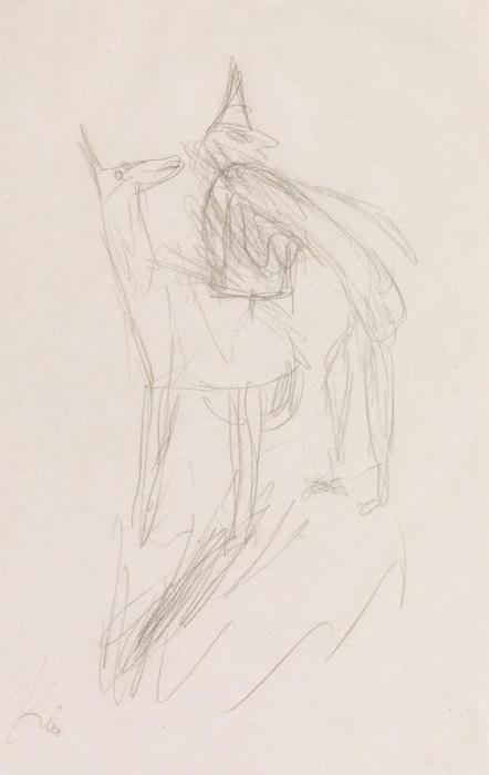 Paul Klee-Clown und Tier-1933