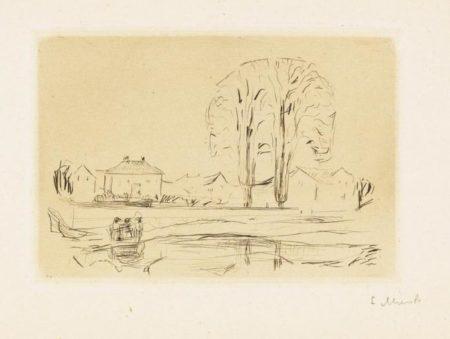 Edvard Munch-Fra Asgardstrand-1907