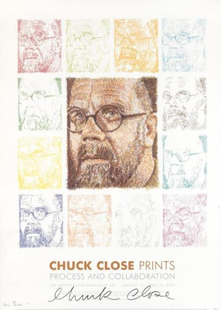 Chuck Close Prints / Process and Collaboration-2004