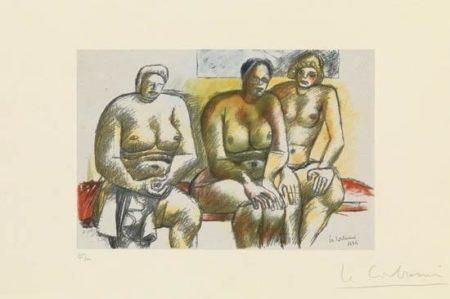 Le Corbusier-Trois femmes nues assises-1932