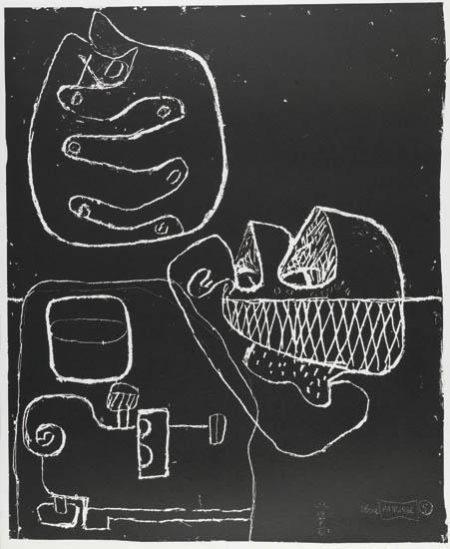 Le Corbusier-Serie Panurge-1962