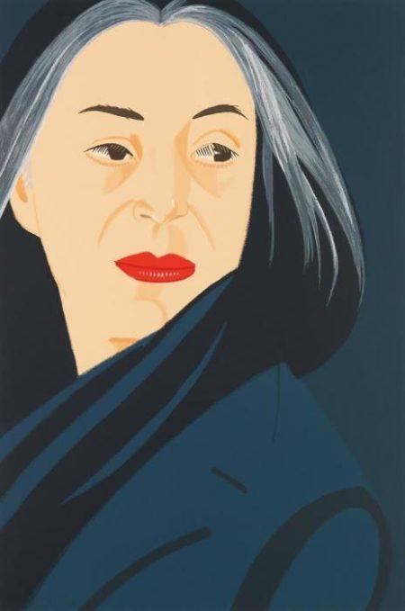 Alex Katz-Black Scarf-1996