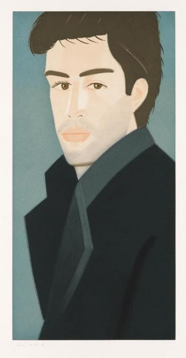 Alex Katz-Vincent / Blue Coat-1993