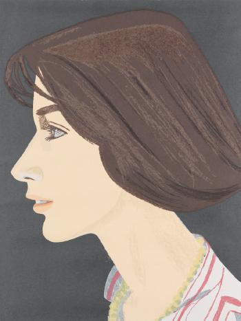 Alex Katz-Susan (Maravell, 90)-1976