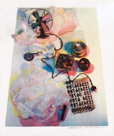 Robert Rauschenberg-Robert Rauschenberg - Shadow Play-1967