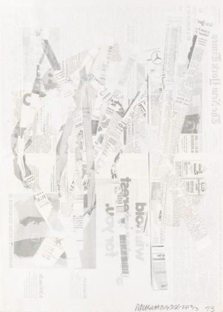 Robert Rauschenberg-Robert Rauschenberg - Hommage a Picasso-1973