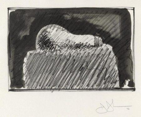 Jasper Johns-Light Bulb (ULAE 170)-1976