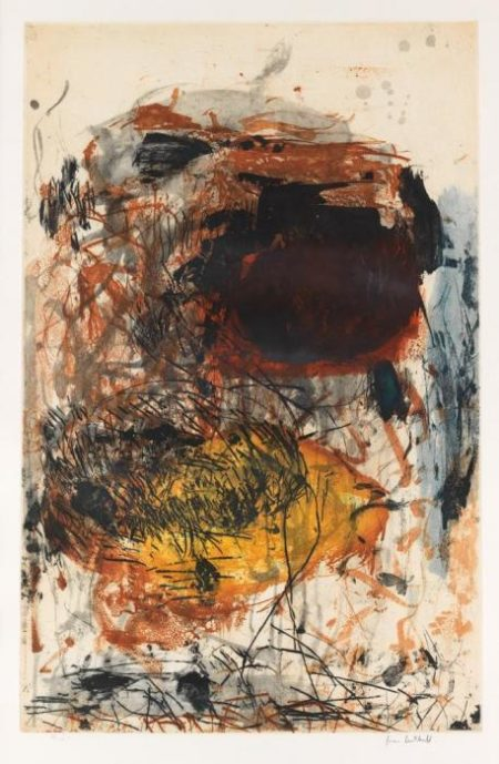Joan Mitchell-Sunflower III-1972
