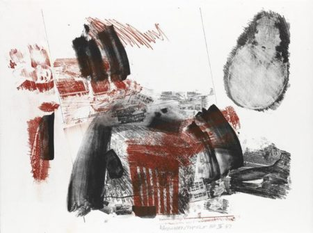Robert Rauschenberg-Robert Rauschenberg - Test Stone #3 (From Booster And Seven Studies)-1967