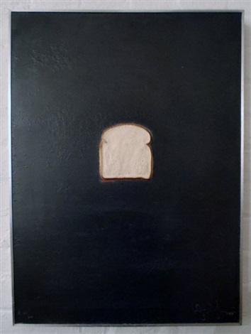 Jasper Johns-Bread-1969