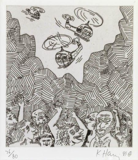 Keith Haring-Keith Haring - The Valley 12-1989