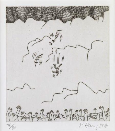 Keith Haring-Keith Haring - The Valley 4-1989
