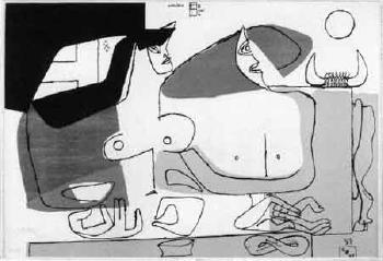 Le Corbusier-La femme rose-1961