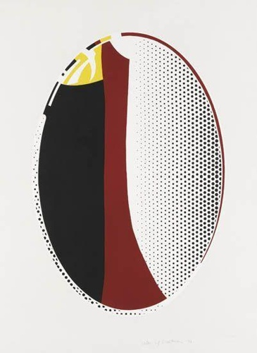 Roy Lichtenstein-Mirror #6-1972