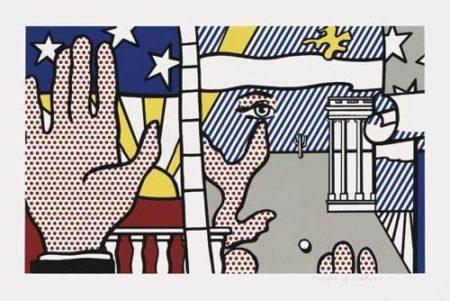 Roy Lichtenstein-Inaugural Print-1977
