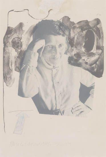 Robert Rauschenberg-Robert Rauschenberg - Tanya-1974