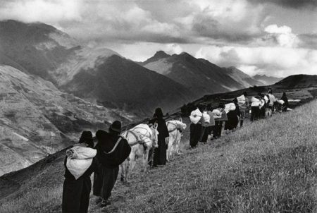Sebastiao Salgado-Chimborazo, Ecuador (Taking Goods to Market)-1998