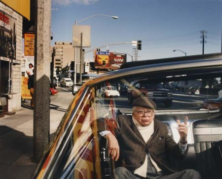 Annie Leibovitz-Billy Wilder, Los Angeles, Sunset Boulevard-1995