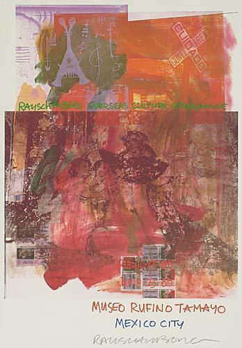 Robert Rauschenberg - Museo Rufino Tamayo, Mexico City-1985