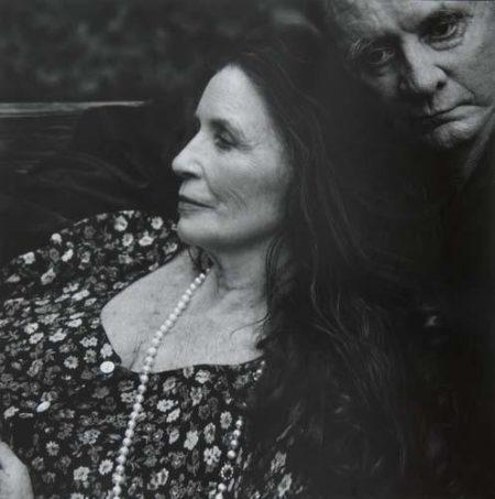 June Carter Cash and Johnny Cash, Hiltons, Virginia-2001