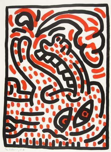 Keith Haring-Keith Haring - Ludo 4-1985