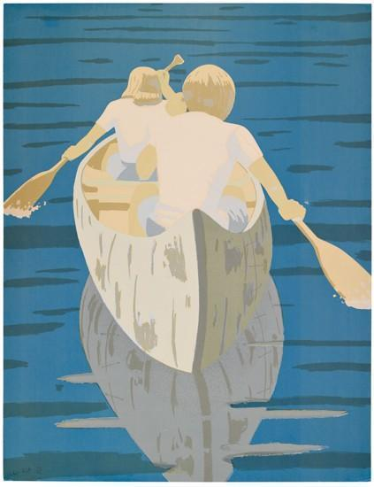 Alex Katz-Good Morning (Maravell 79)-1975