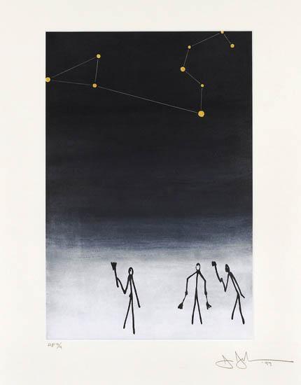 Jasper Johns-For Leo-1997