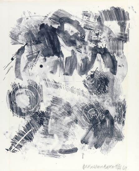 Robert Rauschenberg-Robert Rauschenberg - Loop-1969