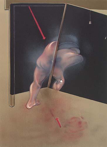 Francis Bacon-Etude de corps humain-1981
