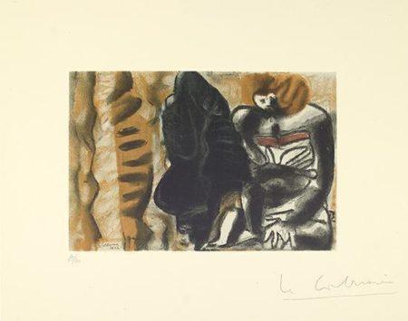 Le Corbusier-Figures noir-1932