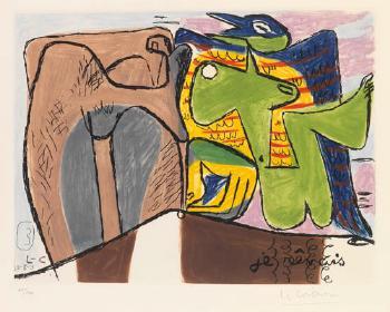 Le Corbusier-Je revais-1953