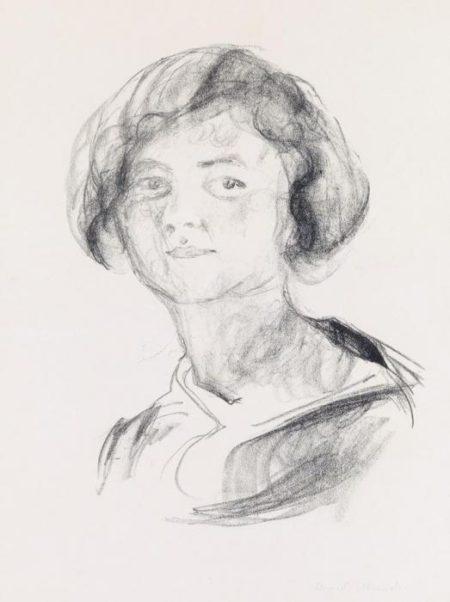 Edvard Munch-Oslo Backfisch (Woll 635)-1920