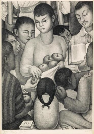 Diego Rivera-Fruits of Labor-1932