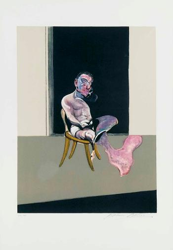 Francis Bacon-Triptych August 1972 (Right Panel)-1989