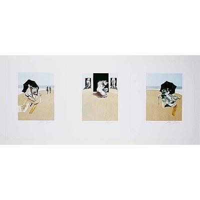 Francis Bacon-Simple, I, II y III-1981