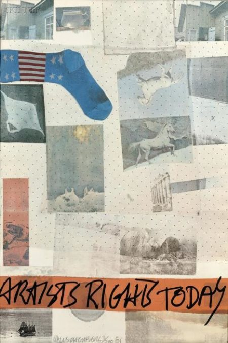 Robert Rauschenberg-Robert Rauschenberg - Artists Rights Today-1981
