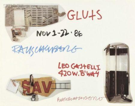 Robert Rauschenberg-Robert Rauschenberg - Gluts-1986