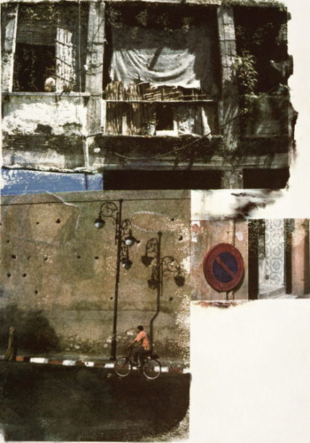 Robert Rauschenberg-Robert Rauschenberg - Winner Spinner (From The Marrakitch Series)-2000