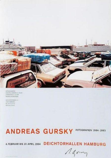 Andreas Gursky-Ausstellungsplakat Andreas Gursky 1993-