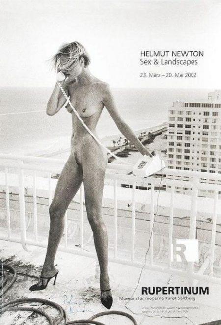 Helmut Newton-Sex and Landscapes-