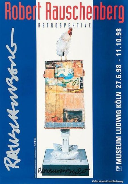 Robert Rauschenberg-Robert Rauschenberg - Retrospektive Museum Ludwig 1998-1998
