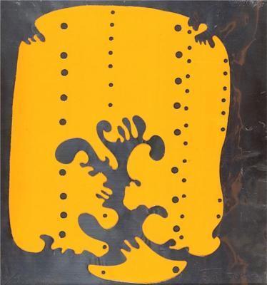 Lucio Fontana-Concetto spaziale (Teatrino)-1966